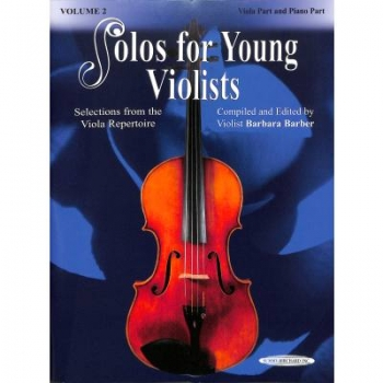 Solos for young violists 2 Viola+Klavier