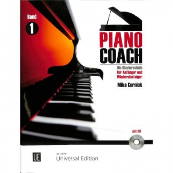 Piano Coach 1+CD Mike Cornick