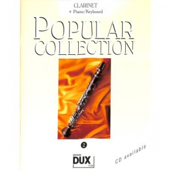 DUX Popular Collection 2 Klarinette+Klavier