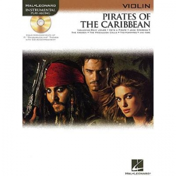Pirates Of The Caribbean für Violine + CD