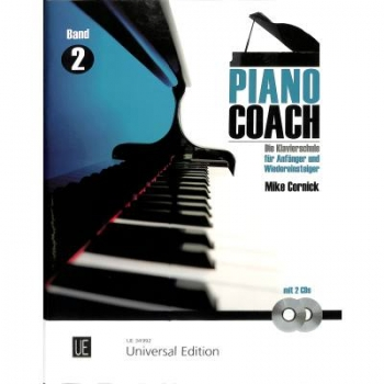 Piano Coach 2+CD Mike Cornick