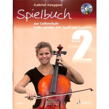 Spielbuch 2 Cello, Koeppen