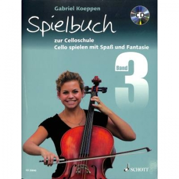 Spielbuch 3 Cello, Koeppen