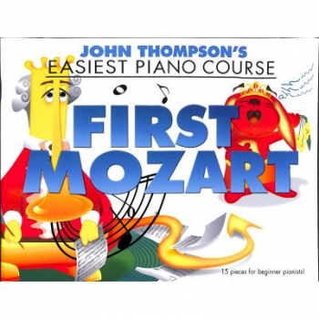 Easiest piano course - first Mozart