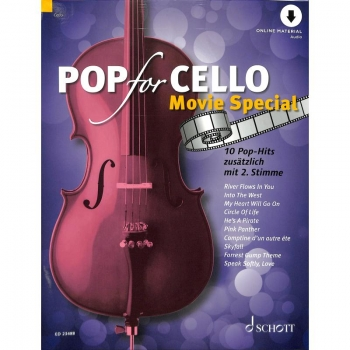 Pop for Cello - Movie special inkl. Online Audio
