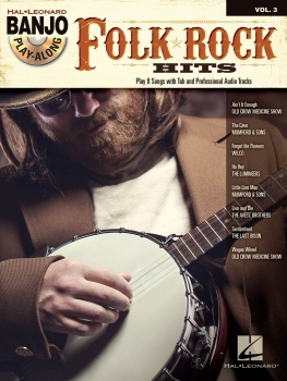 Folk/Rock Hits - Banjo Play-Along Volume 3