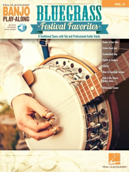 Bluegrass Festival Favorites - Banjo Play-Along Volume 9