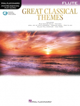 Great classical themes Querflöte+Online-Audio