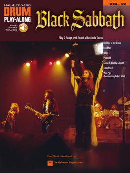 Black Sabbath Drum Play-Along Volume 22