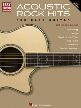 Acoustic Rock Hits for Easy Guitar – 2nd Edition
