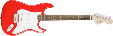Fender Squier Affinity Series™ Stratocaster®, Laurel Fingerboard, Race Red