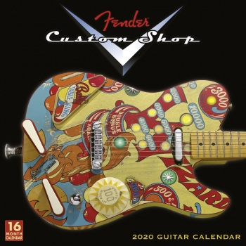 Fender Custom Shop Kalender 2020