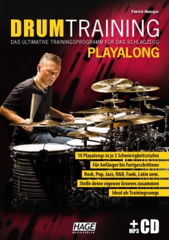 Drum Training Playalong (mit MP3-CD)