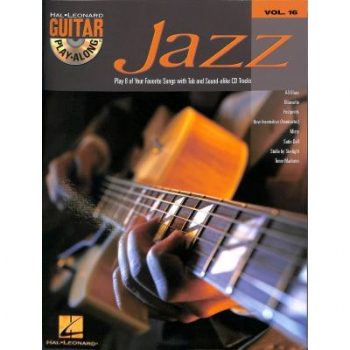 Jazz (+CD) : Guitar Playalong Vol.16 Songbook Guitar/Tab