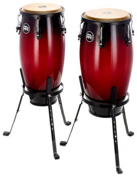 "Meinl ""Headliner"" HC512 Conga Set 11"" + 12"" - Wine Red Burst"