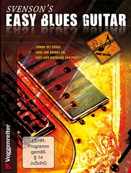 Svenson's easy blues guitar DVD