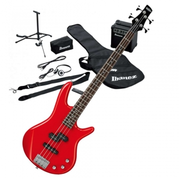 Ibanez IJSR190-RD Jumpstart E-Bass Set