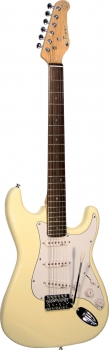 Career Stage-1 E-Gitarre vintage white