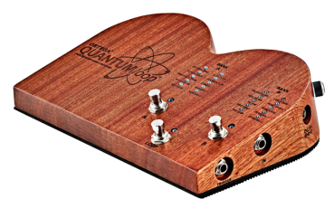 ORTEGA Quantumloop - Digitale Stomp Box/Looper 16 built in Samples & 4 costum Samples inkl. Netzteil