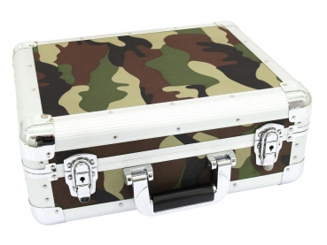 Roadinger CD-Case ALU Digital-Booking abgerundet camo