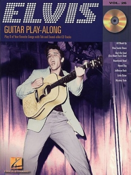 Elvis Presley (+CD) : Guitar Playalong Vol.26 Songbook Vocal/Guitar/Tab
