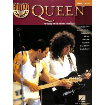 Queen (+CD) : Guitar Playalong Vol.112 Songbook Vocal/Guitar/Tab