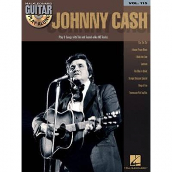 Johnny Cash - Guitar Playalong Vol.115 (+CD)