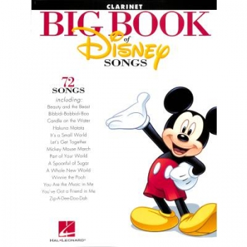 Big book of Disney songs - Klarinette