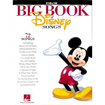 Big book of Disney songs - Violine