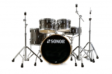 Sonor AQ1 Studio Set Woodgrain Black