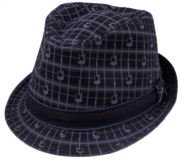 Fender® Axe Plaid Fedora, L/XL