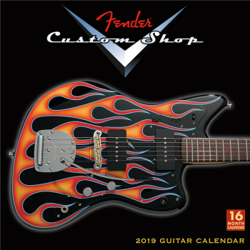 Fender Custom Shop Guitar Calendar 2019