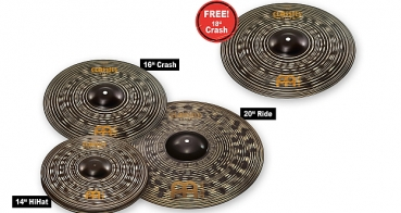 "Meinl Classics Custom Dark Set + 18"" Crash - Ltd. Set"