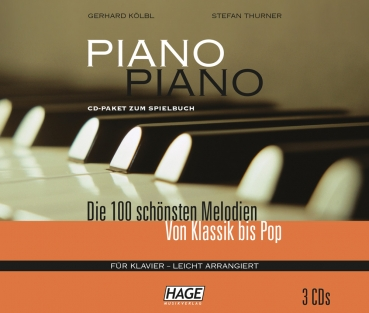 Hage Piano Piano 1 CD-Paket (3 CDs)