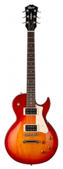 CORT E-Gitarre, CR100, Cherry Red Sunburst