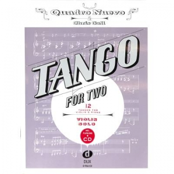 DUX Tango for Two Violine CD