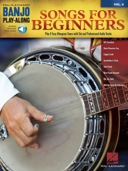 Songs for Beginners - Banjo Play-Along Volume 6