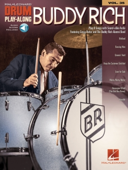 Buddy Rich Drum Play-Along Volume 35