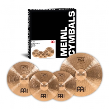 Meinl HCS Bronze Complete Cymbal Set-up