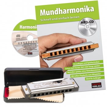 Special Blues Mundharmonika Set