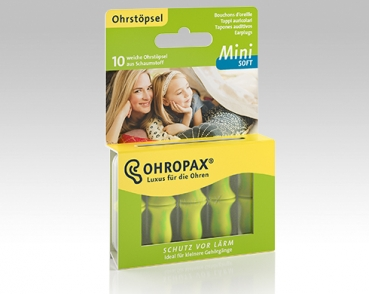OHROPAX Mini-SOFT - 10 Ohrstöpsel in Dose