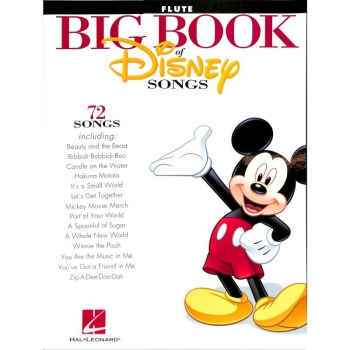 Big book of Disney songs - Querflöte