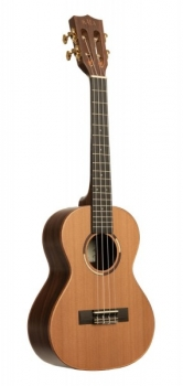 KALA KA-ASCP-T - All Solid Cedar Top, Pau Ferro Tenor Ukulele, with Case