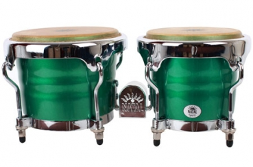 "NATAL Bongos, Spirit, 6,5+7,5"", Metallic Green"