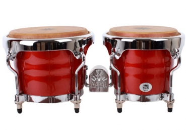 "NATAL Bongos, Spirit, 6,5+7,5"", Metallic Red"