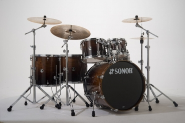 Sonor Special Edition SSE17 Burnt Fade - Schlagzeug Shellset