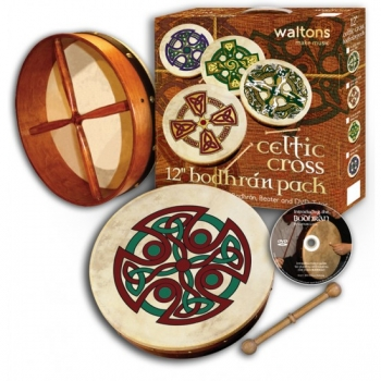 Waltons Carew Cross Bodhran Pack 12""