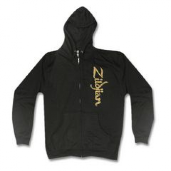 Zildjian Sweat-Kapuzenjacke Vertical Logo Black, Extra Large