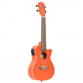 ORTEGA Earth Series Konzert Ukulele 4 String Hokkaido Pumpkin Orange