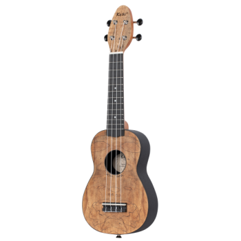 "Keiki K3-SPM-L Ukulele Set ""spalted maple"" Lefty"